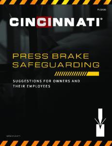 PRESS BRAKE SAFEGUARDING