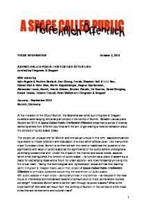 PRESS INFORMATION October 3, 2013