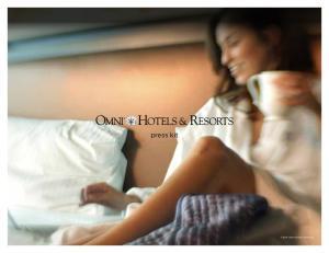 press kit 2014 Omni Hotels & Resorts