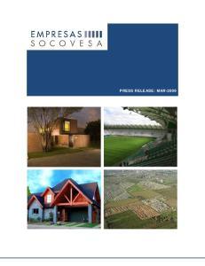 PRESS RELEASE: MAR-2009