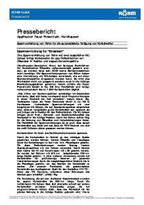 Pressebericht Applikation Feuer Powertrain, Nordhausen