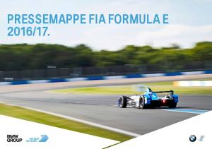 PRESSEMAPPE FIA FORMULA E