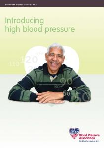 PRESSURE POINTS SERIES: Introducing high blood pressure