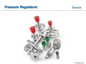 Pressure Regulators Swagelok Company