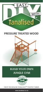 PRESSURE TREATED WOOD BUILD YOUR OWN JUNGLE GYM