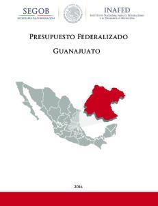 Presupuesto Federalizado. Guanajuato