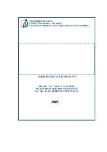 PREVALENCIA Y FACTORES DE RIESGO DE SINDROME METABOLICO EN POBLACION ADULTA DEL DEPARTAMENTO DE LAMBAYEQUE 2004