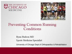 Preventing Common Running Conditions