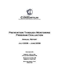 Prevention Through Mentoring Program Evaluation