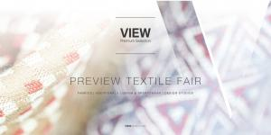 PREVIEW TEXTILE FAIR FABRICS ADDITIONALS DENIM & SPORTSWEAR DESIGN STUDIOS VIEWMUNICH.COM
