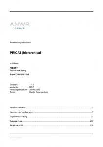 PRICAT (hierarchical)