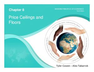 Price Ceilings and Floors