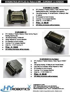 Price : $ Price : $ Price : $ 195,00. SPI Wiring Information will be included. SPI Wiring Information will be included
