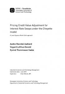 Pricing Credit Value Adjustment for Interest Rate Swaps under the Cheyette model