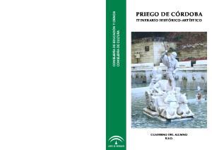 PRIEGO DE CÓRDOBA ITINERARIO HISTÓRICO-ARTÍSTICO