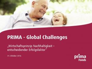 PRIMA - Global Challenges