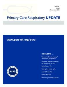 Primary Care Respiratory UPDATE