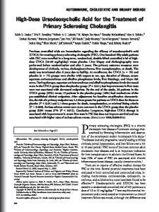 Primary sclerosing cholangitis (PSC) is a chronic
