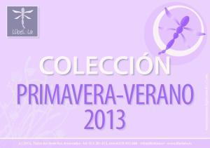 PRIMAVERA-VERANO 2013