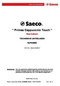 Primea Cappuccino Touch