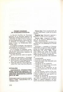 PRIMER CONGRESO DE TECNOLOGIA EDUCATIVA
