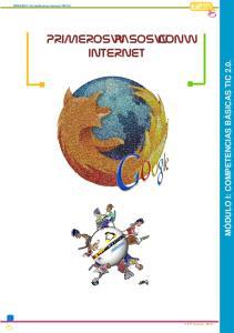 PRIMEROS PASOS CON INTERNET