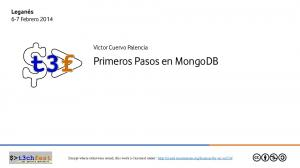 Primeros Pasos en MongoDB