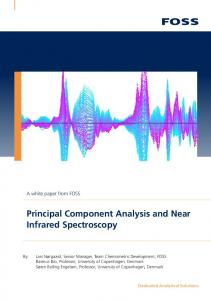 Principal Component Analysis and Near Infrared Spectroscopy