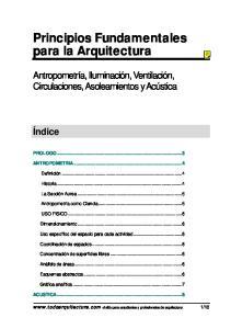 Principios Fundamentales para la Arquitectura