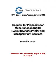Printer and Managed Print Services