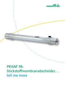 PRISM PA- Stickstoffmembranabscheider... tell me more