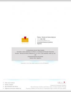 Prismas - Revista de Historia Intelectual ISSN: Universidad Nacional de Quilmes Argentina