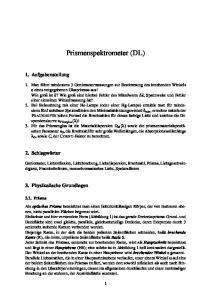 Prismenspektrometer (DL)