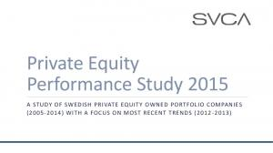 Private Equity Performance Study 2015