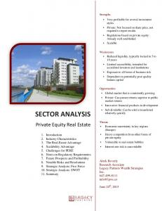 Private Equity Real Estate