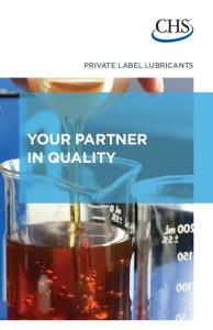 PRIVATE LABEL LUBRICANTS YOUR PARTNER IN QUALITY