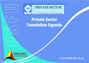 Private Sector Foundation Uganda