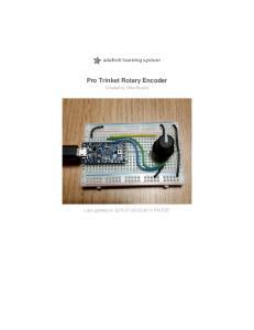 Pro Trinket Rotary Encoder