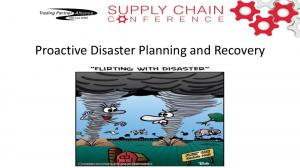Proactive Disaster Planning and Recovery