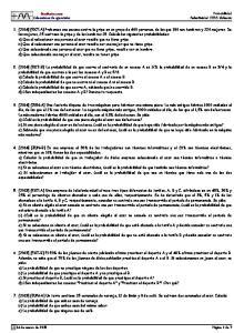 Probabilidad Selectividad CCSS Valencia. MasMates.com Colecciones de ejercicios