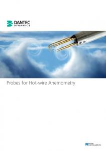 Probes for Hot-wire Anemometry