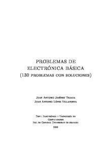 PROBLEMAS DE. (130 problemas con soluciones)