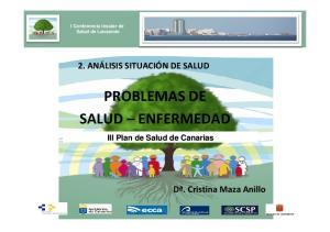 PROBLEMAS DE SALUD ENFERMEDAD