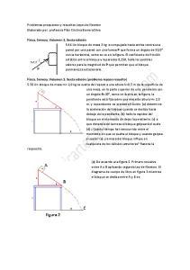 Problemas propuestos y resueltos Leyes de Newton Elaborado por: profesora Pilar Cristina Barrera Silva