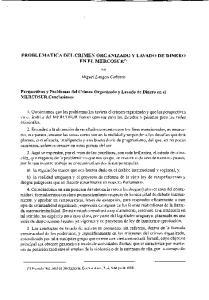 PROBLEMATICA DEL CRIMEN ORGANIZADO Y LAVADO DE DINERO EN EL MERCOSUR(*)