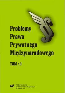 Problemy Prawa Prywatnego