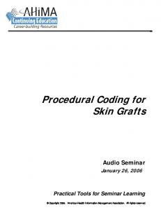 Procedural Coding for Skin Grafts