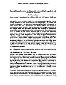Proceedings - AutoCarto Columbus, Ohio, USA - September 16-18, 2012