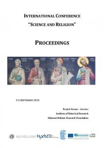 PROCEEDINGS INTERNATIONAL CONFERENCE SCIENCE AND RELIGION 3-5 SEPTEMBER 2015