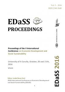 PROCEEDINGS. Proceedings of the V International Conference on Economic Development and Social Sustainability